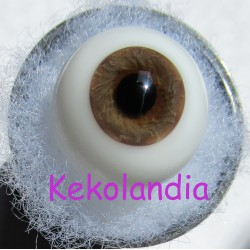 Ojos Cristal Bola  - Avellana