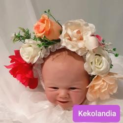 Gorrito de flores - Atenea