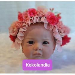 Diadema Flores - Hebe