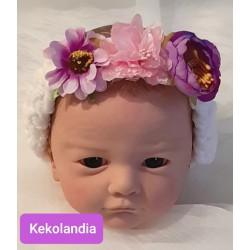 Flowers headband - Pandora