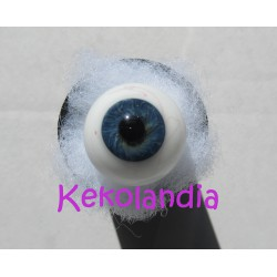 Glass Eyes Ballon with veins -  Dark Blue