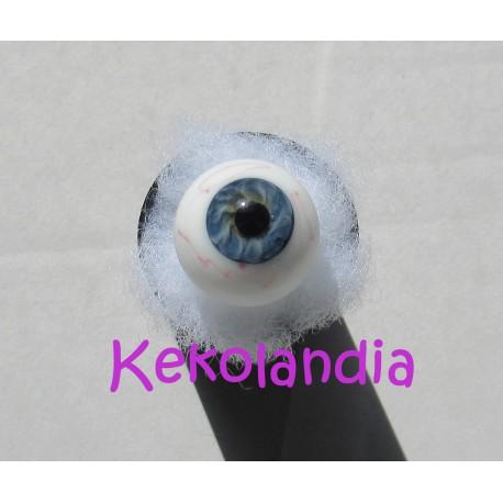 Glass Eyes Ballon with veins - Blue