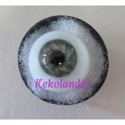Crystal Eyes Blue Sclerotic Ball - Blue Grey