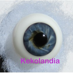 Glass Eyes Ballon - Dark Blue