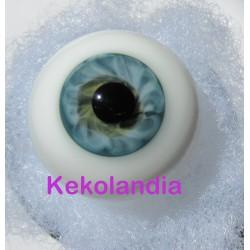 Glass Eyes Ballon - Blue Green
