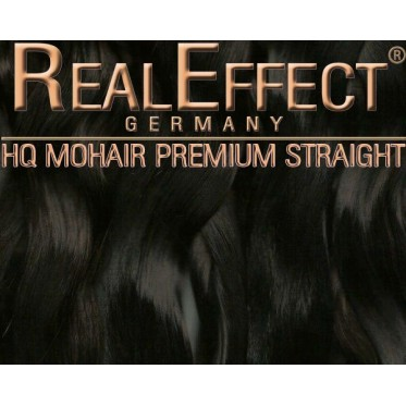 Deep Dark Brown  - Real Effect F07 - Straight