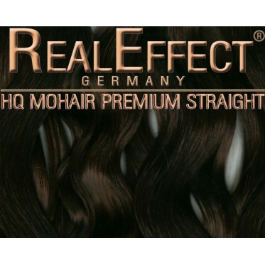 Dark Brown  - Real Effect F05 - Straight