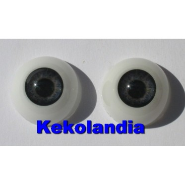 Eyes-Dark Blue Gray-20mm