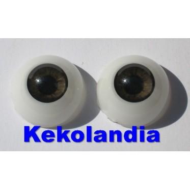 Ojos- Castaño-20mm