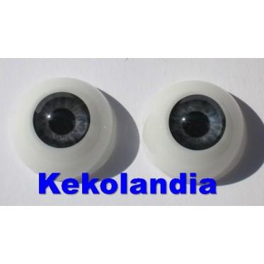 Eyes Grey-16mm