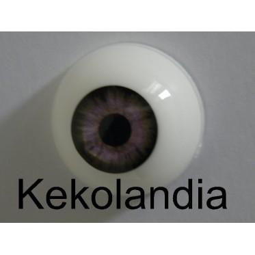 Ojos-Verde Grisáceo-22mm