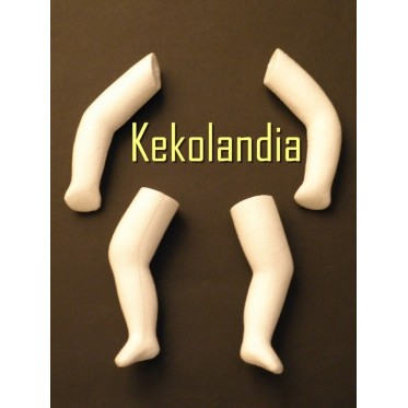 Arms and legs - Polystyrene Set 3