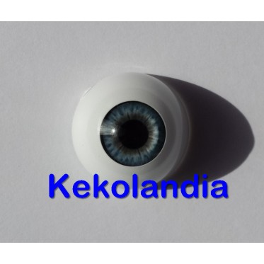 Ojos- Azul Claro Victoria-18mm
