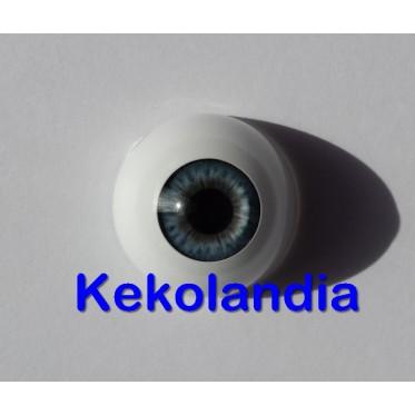 Ojos-Azul Claro Victoria-24mm