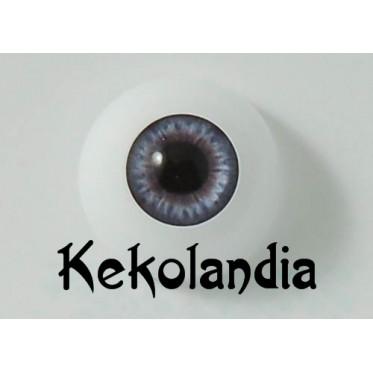Ojos-Azul Oscuro Victoria-24mm
