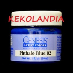 Phthalo Blue 02
