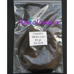 Human hair - Medium Brown