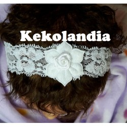 Diadema Kekolandia - Rosa - Modelo K7