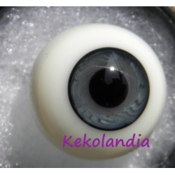 Ojos Cristal Bola  - Dorado