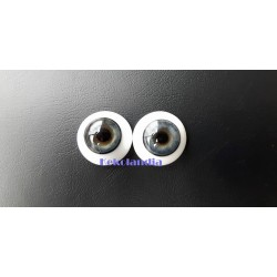 Glass Eyes-Blue Grey-18mm