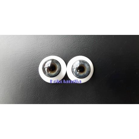 Glass Eyes-Blue Grey-16mm