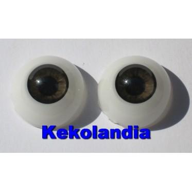 Ojos- Castaño muy oscuro-22mm